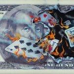 """$100 Bill Full House,"" Michael Godard"