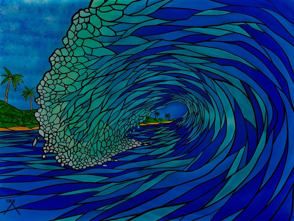 """""""Stained Glass Wave"""""""