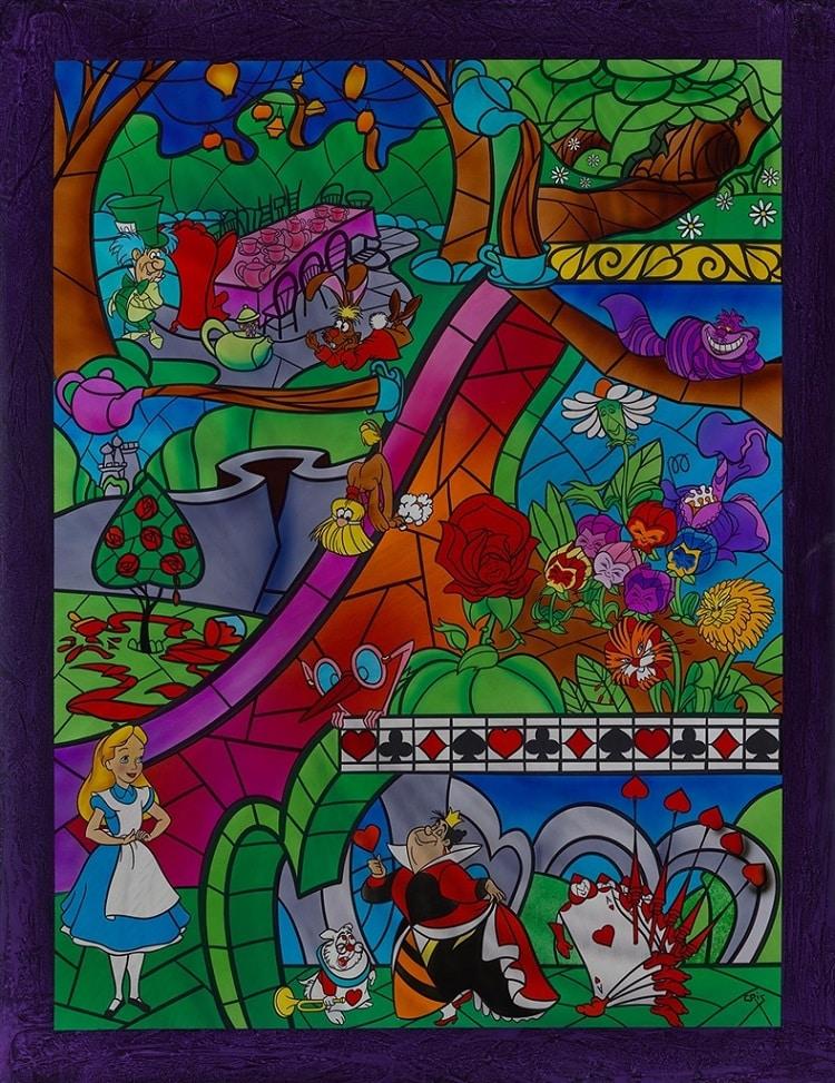 """A View of Wonderland,"" Cris X"