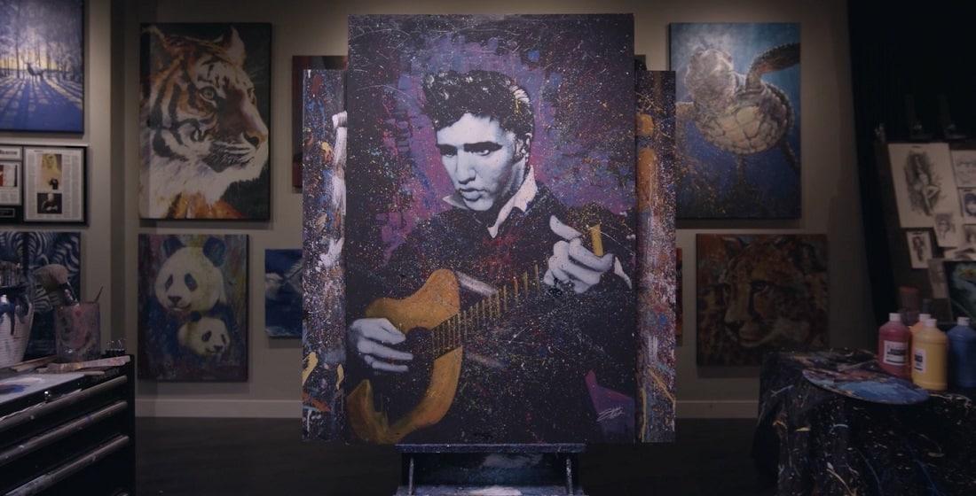 Elvis Presley by Stephen Fishwick