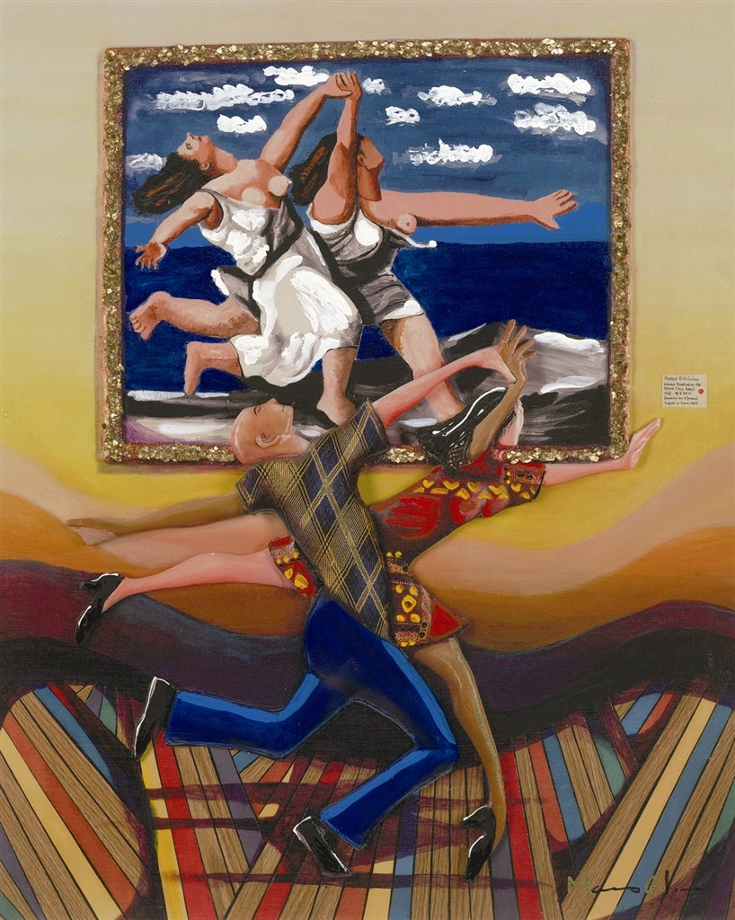 """Life Imitating Art (Picasso Painting),"" Marcus Glenn"
