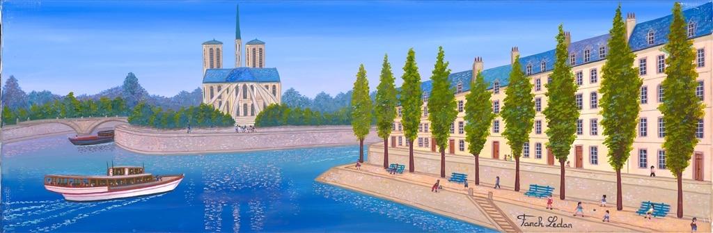 """Cruising on the Seine,"" Fanch Ledan"