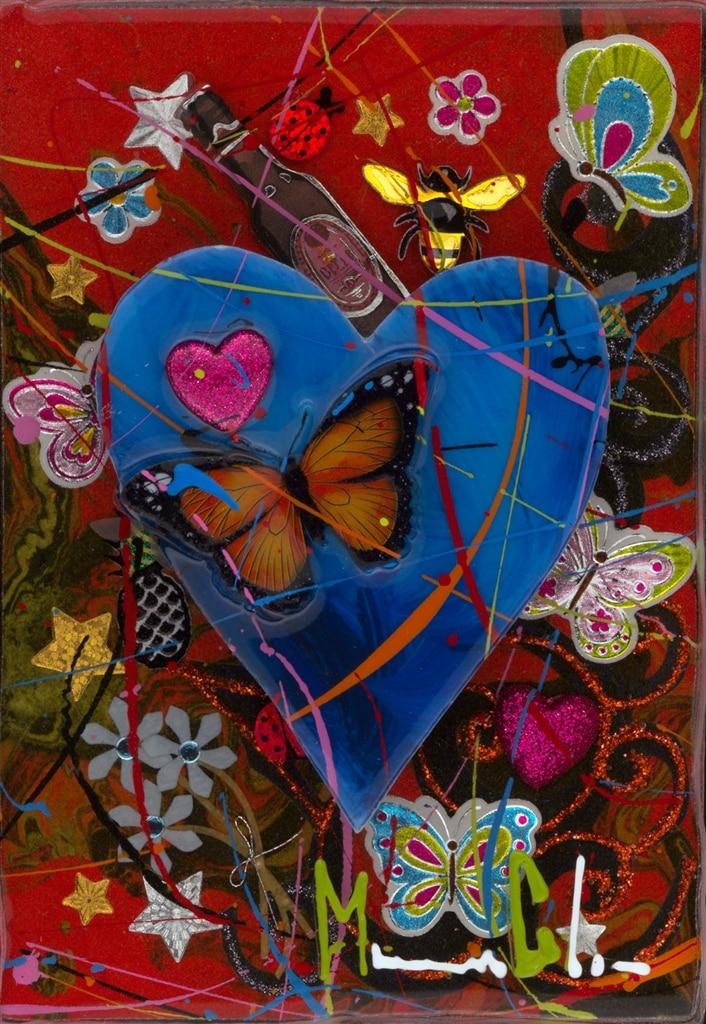 """A Little Love Goes a Long Way (Blue),"" Marcus Glenn"