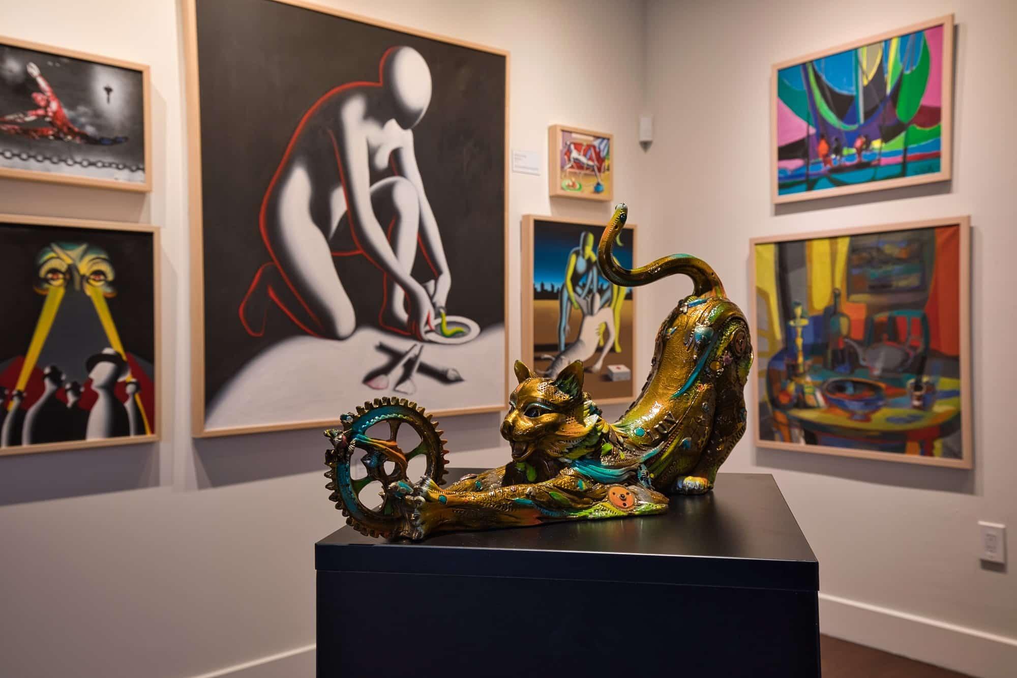 Featured art at Park West Fine Art Museum Las Vegas