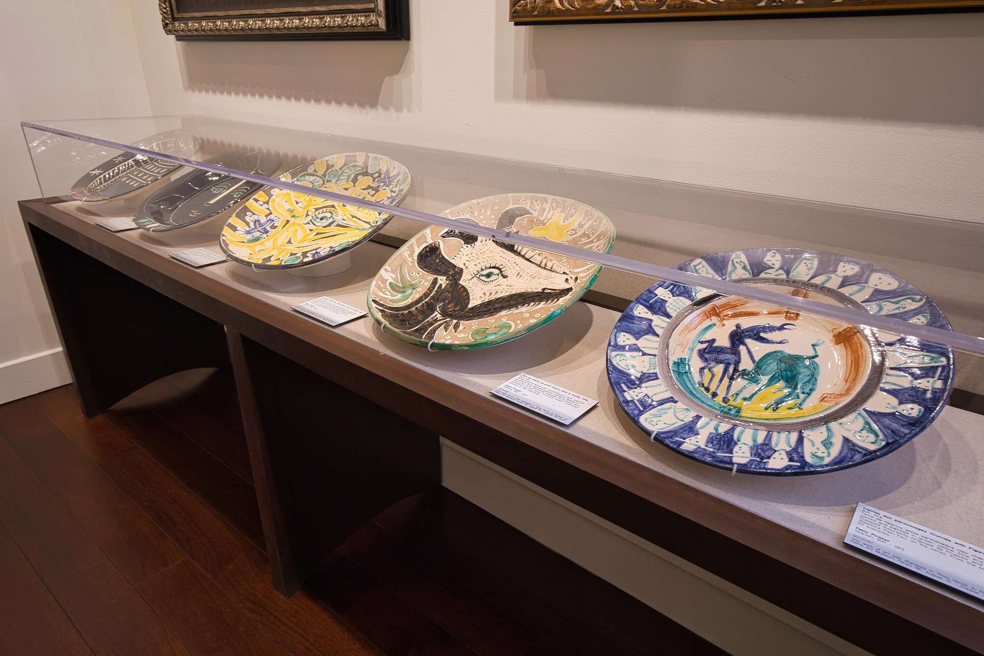 Pablo Picasso Ceramics at Park West Fine Art Museum Las Vegas