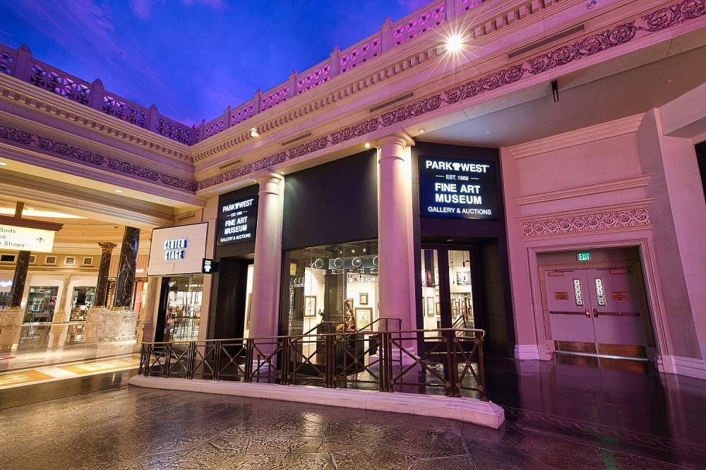 Park West Fine Art Museum & Gallery in the Forum Shops at Caesars Palace Las Vegas.