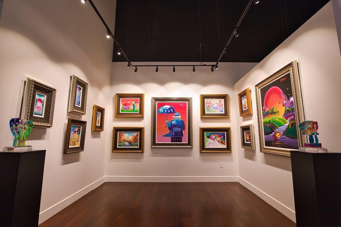 Winning art might be displayed alongside Peter Max originals at Park West Gallery Las Vegas.