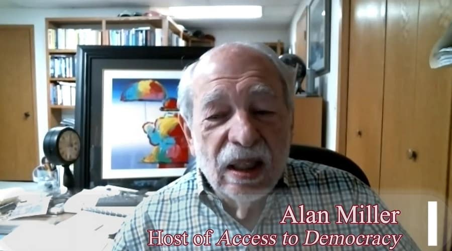 """Alan Miller, host of """"Access to Democracy"""""""