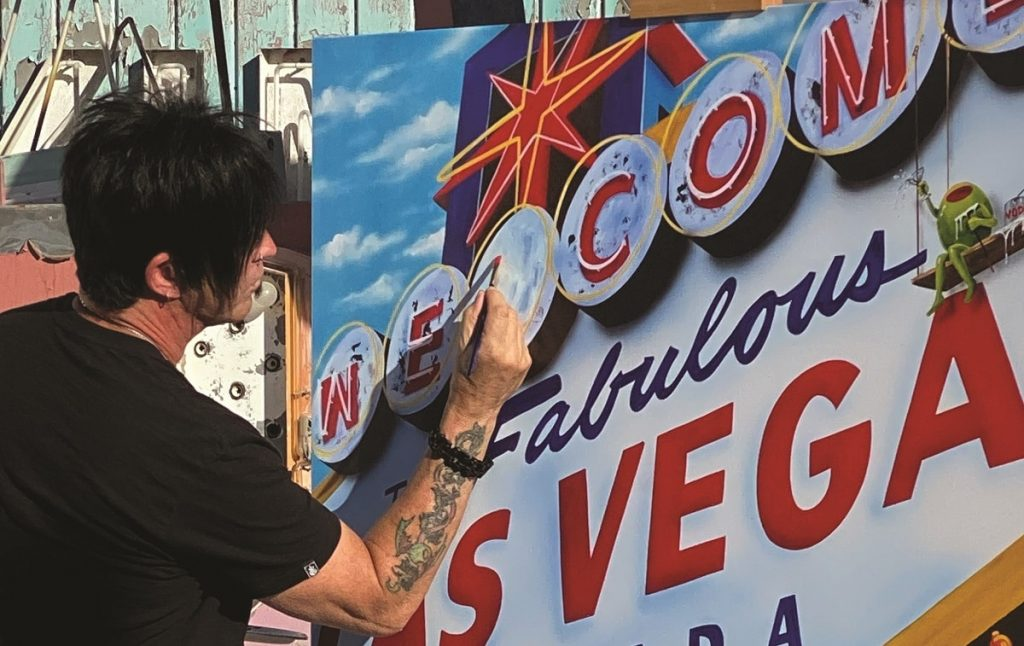 """Las Vegas art legend Michael Godard will be a judge for Park West's """"Made in Vegas"""" artist competition"""