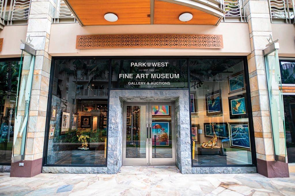 The Park West Fine Art Museum & Gallery in Honolulu